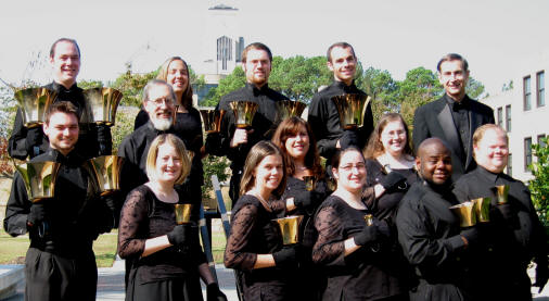 The ASU Ringers, under the direction of Dr. M. Ellis Julien,  will be performing a concert of Christmas music on Monday, Dec. 1, at 7:30 p.m., in Riceland Hall, Fowler Center.