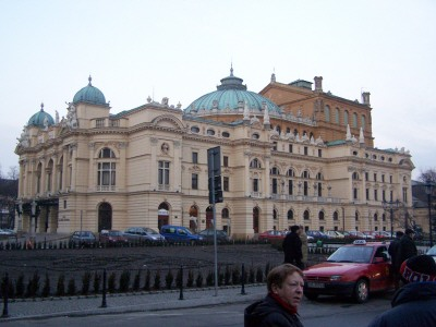 Krakow Opera House, Poland. Photo courtesy of Dr. Dale Miller.