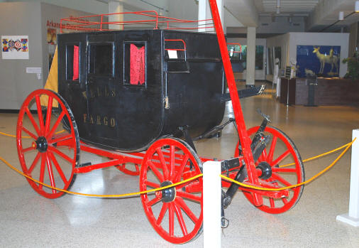 The ASU Museum's stagecoach will be on exhibit for HiStory Time, a children's history story time that begins Saturday, March 7, at 2 p.m.