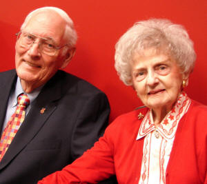 Wayne and Virginia Baker are the first-ever recipients of the joint Distinguished Alumni Award, presented by the Alumni Association of Arkansas State University.