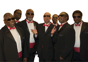 Gospel greats, the Blind Boys of Alabama, will appear at Fowler Center Tuesday,Dec. 8, at 7:30 p.m.