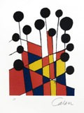 "Alexander Calder's ""Musical Notes"" will be publicly exhibited as part of ""Selections: From the Claude M. Erwin Jr. Collection"" at the Bradbury Gallery."