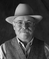 Charlie Seemann, executive director of the Western Folklife Center, will lecture on cowboy poetry on Thursday, Dec. 4, at 4 p.m., in the Mockingbird Room, ASU Student Union. Photo courtesy of the Western Folklife Center.