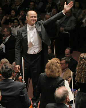 Principal conductor Iván Fischer will conduct the members of the National Symphony Orchestra on stage in ASU's Riceland Hall, Tuesday, March 24, at 7:30 p.m.