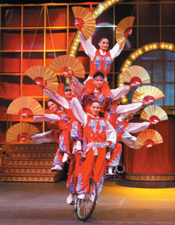Golden Dragon Acrobats will perform in a special Mother's Day matinee performance on Sunday, May 8, 2011, to close this year's Fowler Center Series.