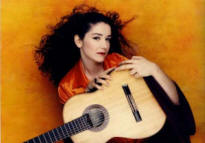 Classical guitarist Antigoni Goni