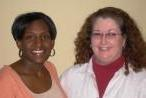 LaToshia Woods, left, and Dr. Dixie Keyes, right, will co-direct the Arkansas Delta Writing Project site at ASU.