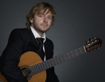 Acclaimed Polish guitarist Marcin Dylla performs as part of ASU's Lecture-Concert Series Tuesday, Jan. 27, at 7:30 p.m. in ASU's Fine Arts Center Recital Hall.