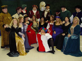 Cast of the Madrigal Feaste (click on photo to see enlarged version)