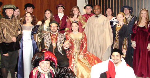 ASU's Concert Choir and Chamber Singers, under the direction of Dr. Dale Miller, present the eleventh annual Madrigal Feaste, Dec. 2-4, at 6:30 p.m. in the Grand Hall, Fowler Center.