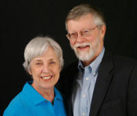 "Dr. Carol O'Connor and Dr. Clyde Milner, from the jacket of ""As Big as the West: The Pioneer Life of Granville Stuart."" Photo by Dr. Jack Zibluk."