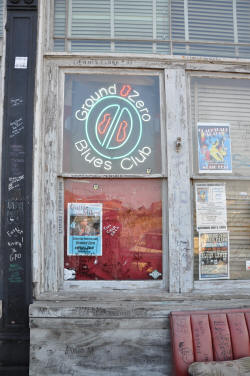 Morgan Freeman's club, Ground Zero, is typical of clubs and juke joints throughout the Mississippi Delta. Photo courtesy of Dr. Gregory Hansen.