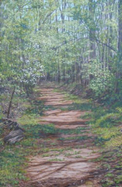 "Nancy LaFarra Wilson's ""Natchez Trace"" will be on display at the Southern Tenant Farmers Museum, Tyronza."