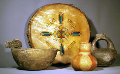 Native American artifacts are on display at the ASU Museum.
