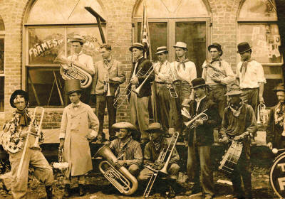 The ASU Museum's Family Heritage Preservation workshop will provide participants with an archival quality preservation kit and priceless information about preserving family treasures, like this old photo of a Pocahontas parade band.