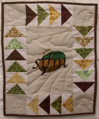 The Southern Tenant Farmers Museum boasts its own quilt.