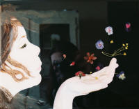 "Natalie Lavender's ""Self-Portrait"" will be on display in the Spring 2010 Senior Exhibition, Part II."