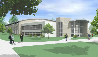 Architectural rendering of ASU's new Student Recreation and Wellness Center.