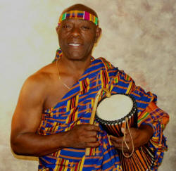 Zinse Agginie will perform at the ASU Museum Saturday, Feb. 6, from 10 a.m.-2 p.m.